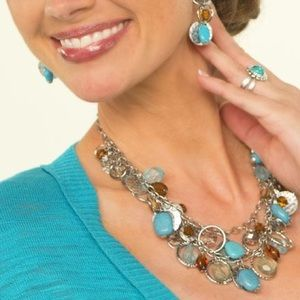 NWT Coastal Breeze Necklace by Premier Designs